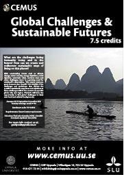 "Sahciko Ishihara koordinerar kursen ""Globala utmaningar & en hållbar framtid""."