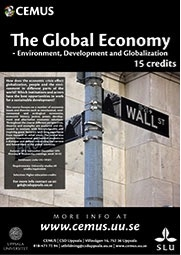Den Globala Ekonomin, en tvärvetenskaplig CEMUS kurs.