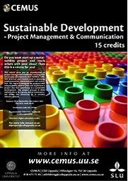 Projektledning och hållbarhetskurs, vid CEMUS.