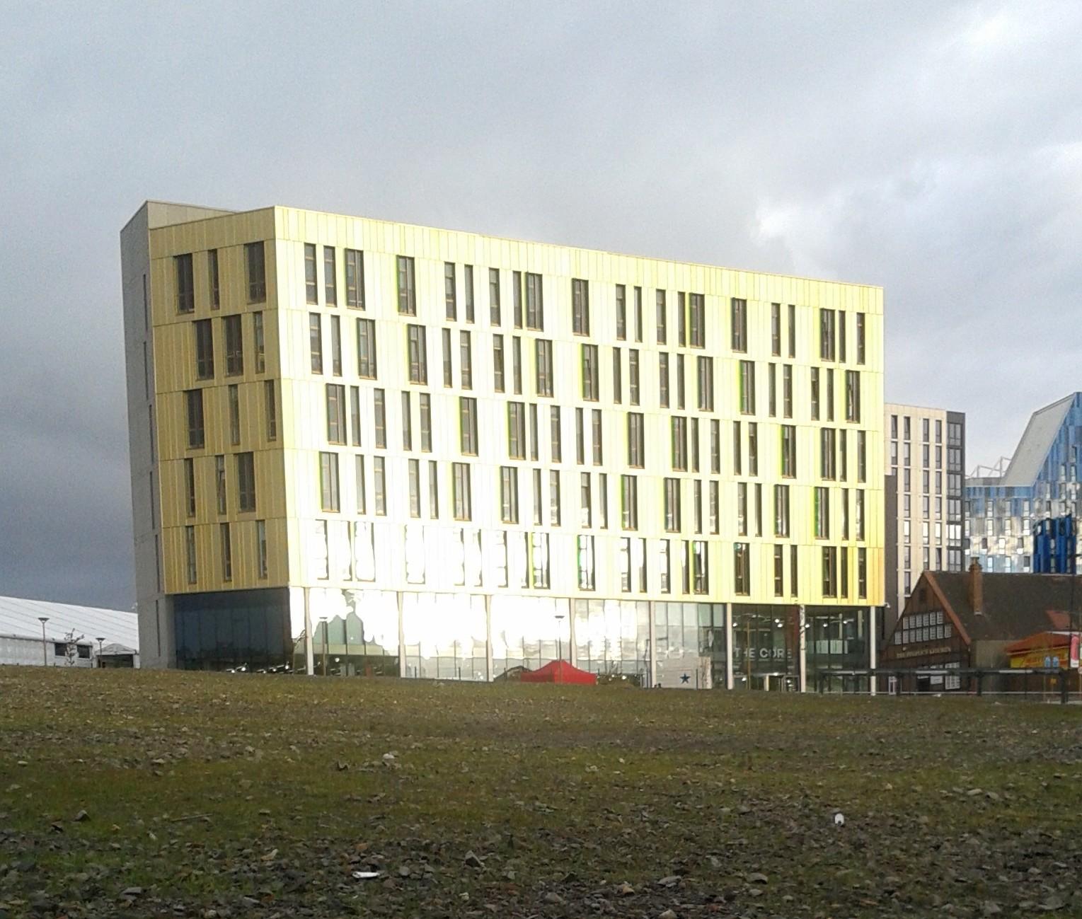 Nr009 Science Central – Newcastle upon Tyne lägger en gyllene klivsten mot framtiden.
