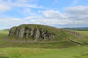 Hadrianus mur vid Housesteds, Northumberland. Foto: AnnVixen