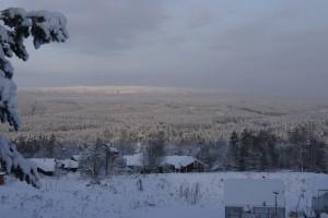 Orsa Finnmarker breder ut sig nedan Skattungbyn. Foto: Agata Mazgaj
