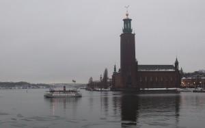 Nya pendlarbåten mellan Söder- och Norrmälarstrand! Foto: AnnVixen