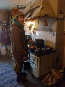 Här lagas en linsgryta till denna lördags folkkök! Foto: AnnVixen