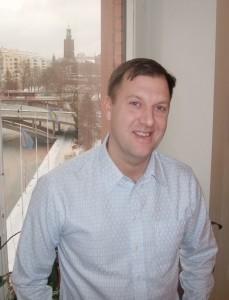 Johan Seuffert, Fleet Manager Stockholms stad. Foto: AnnVixen