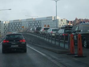 Volvoförare ogillar att köra i rusningstrafik. Foto: AnnVixen